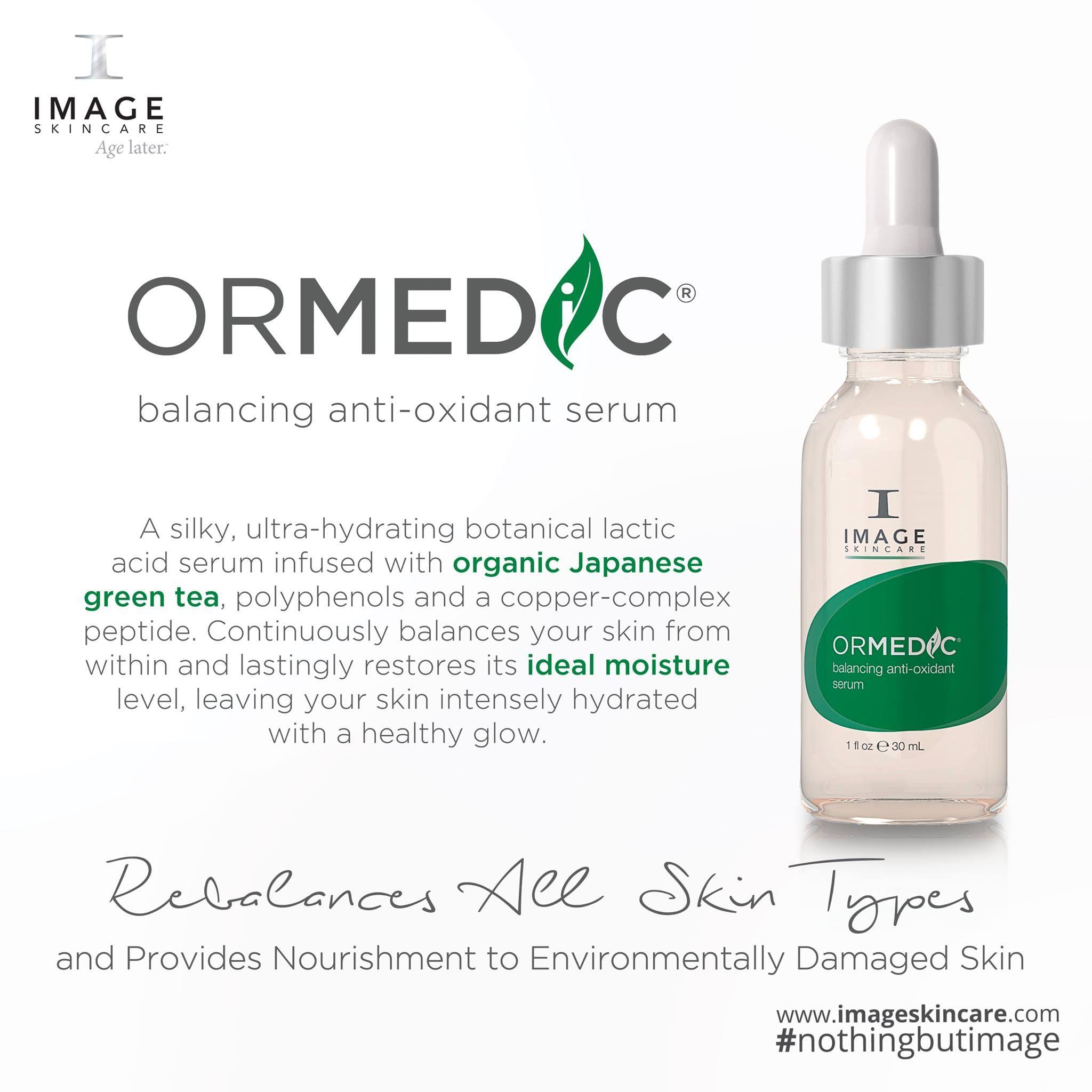 Ormedic Balancing Anti Oxidant Serum Image Skincare Skin Care