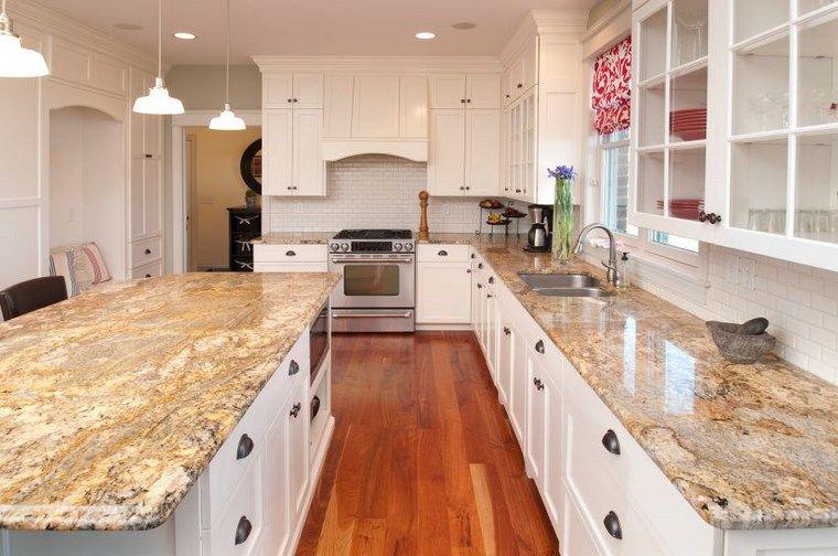 Forma cocinas: más de 50 diseños de cocinas en L - | Cocina con isla ...