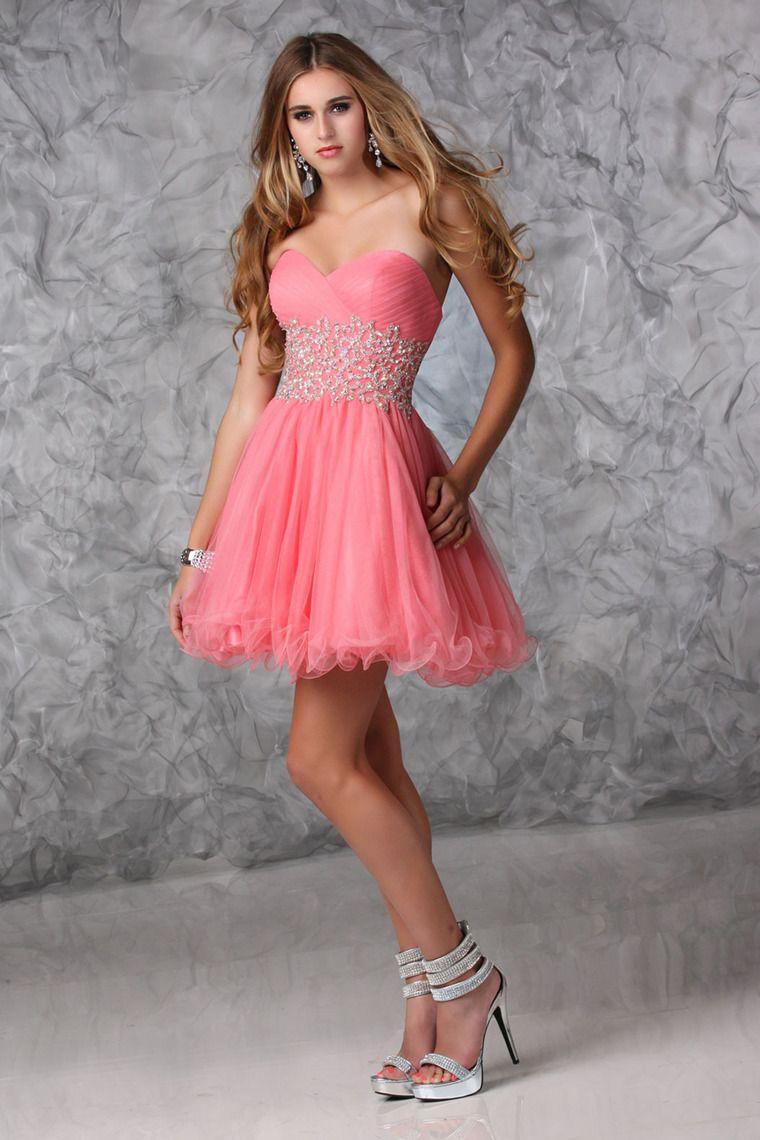 2014 Homecoming Dresses A Line Sweetheart Short/Mini ...
