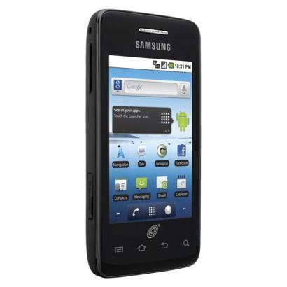 Telcel Samsung Galaxy Precedent Pre-Paid Cell Phone - Black (TCSAM828CP)