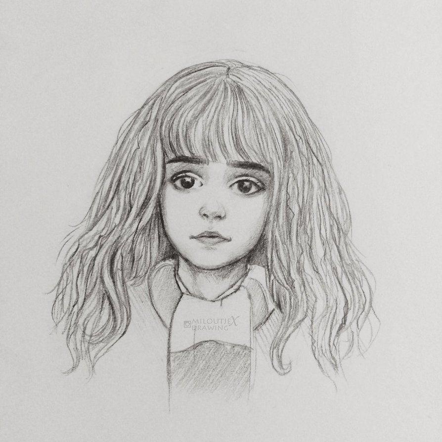 Hermione sketch by miloutjexdrawing.deviantart.com on ...