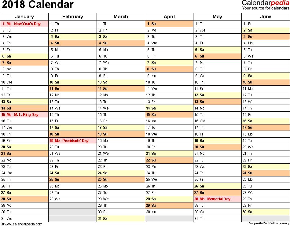 Calendar Excel Template   Calendar