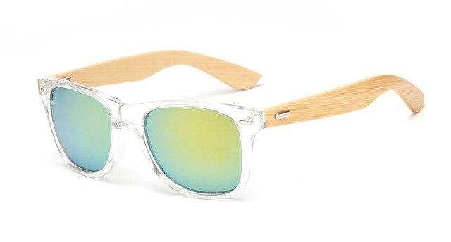 6056a5c299e37a 17 color Wood Sunglasses Men women square bamboo Women for women men Mirror  Sun Glasses retro de sol masculino 2018 Handmade