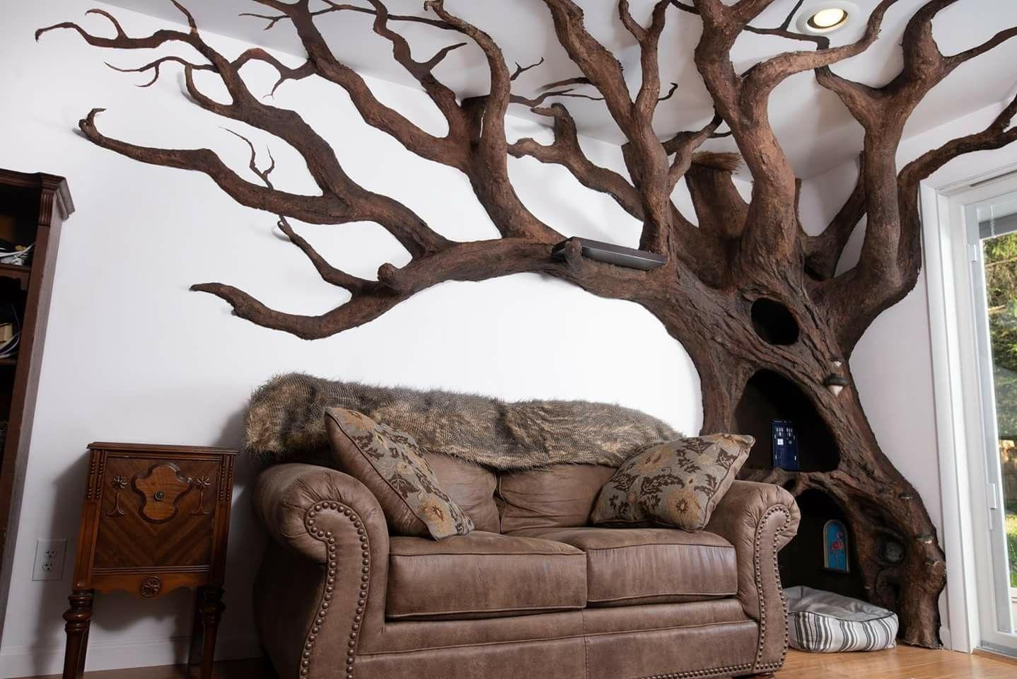 Custom cat tree built by robert rogalski via facebook kat meubels