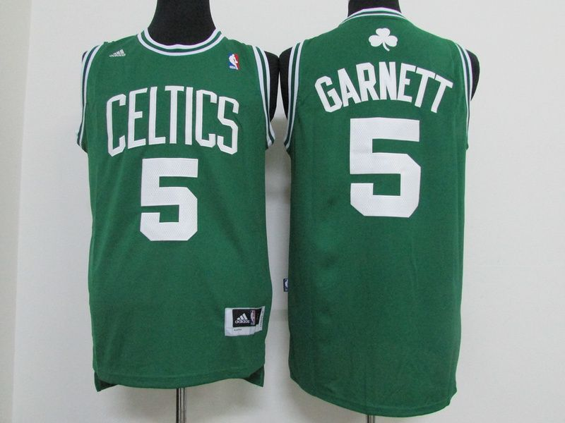 the best attitude e2e2f 37903 Boston Celtics #5 Garnett celtics jersey green | My ...