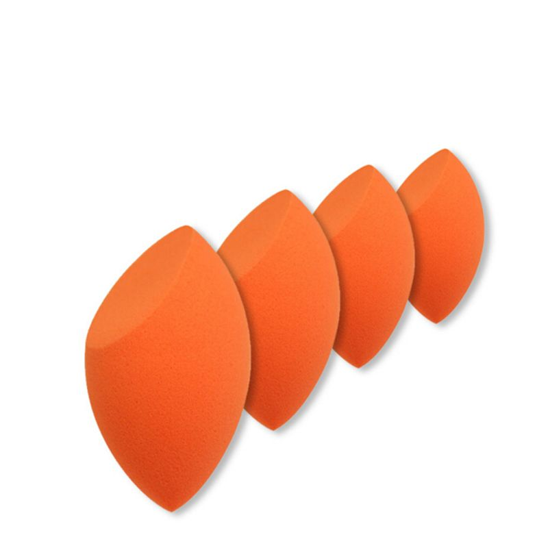 Pro Orange Makeup Puff Cosmetic Skin Foundation Eggs Shape Sponge Powder Facial Flutter Puffs