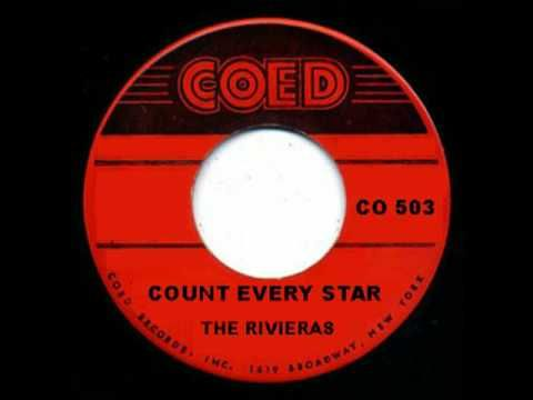 THE RIVIERAS - Count Every Star (1958 Doo-Wop)