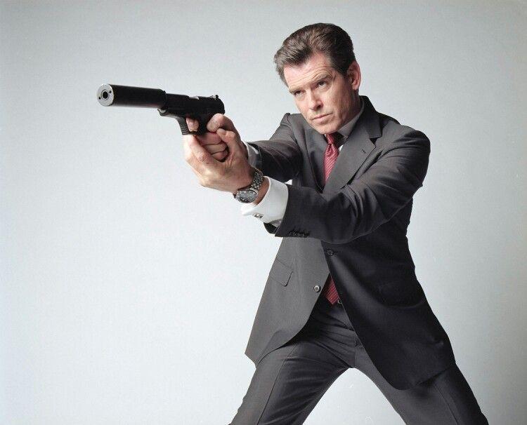 Pierce Brosnan Piercered Broadman James Bond Movies Pierce