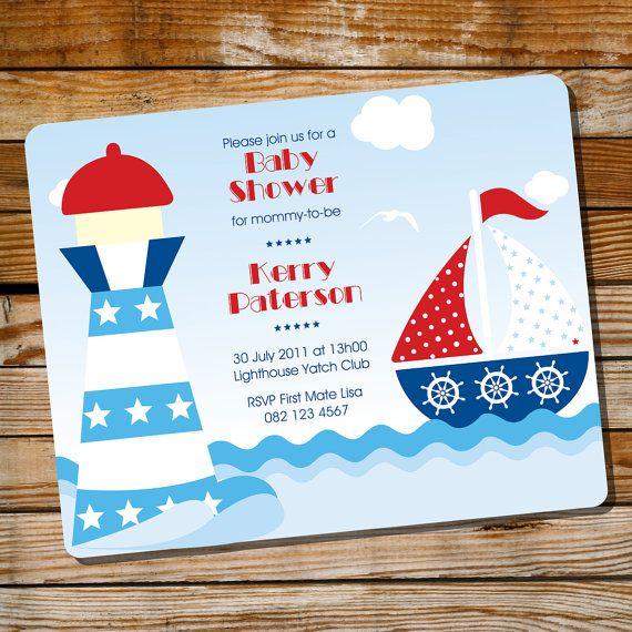 sailor baby showers nautical baby baby shower invitations adobe