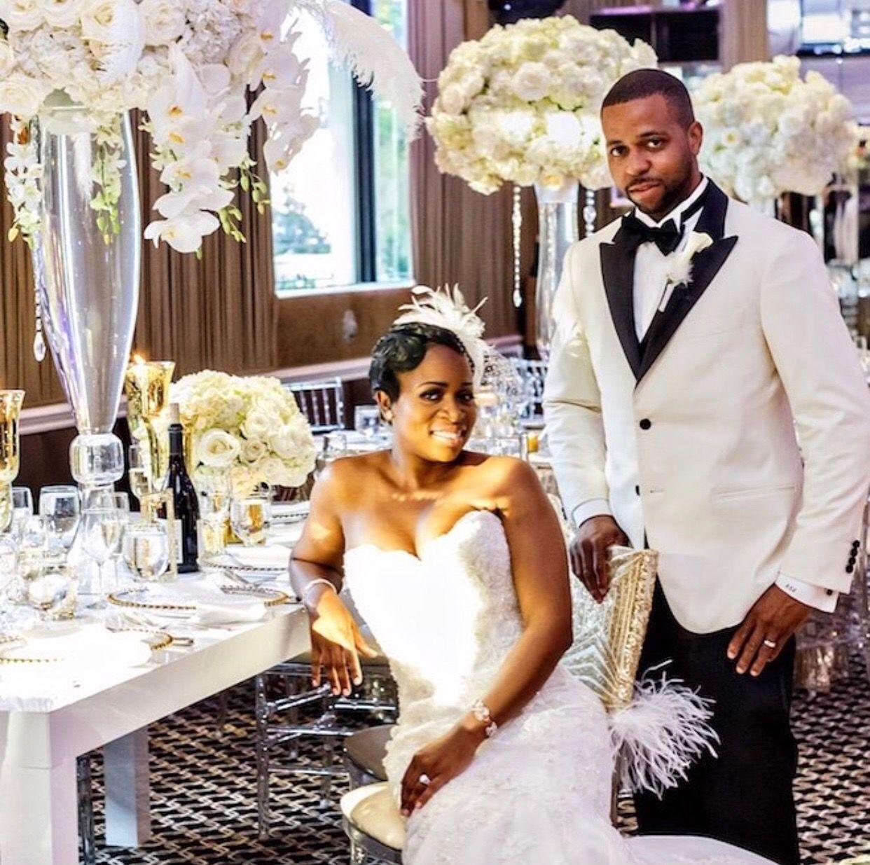 Harlem Renaissance Themed Bow Renewal Munaluchi Bride Munaluchi Bride Renaissance Wedding Glamorous Wedding