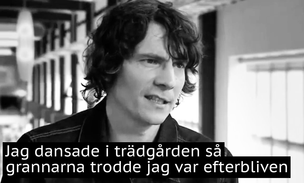 Håkan Hellström intervju i Sverige! på SVT