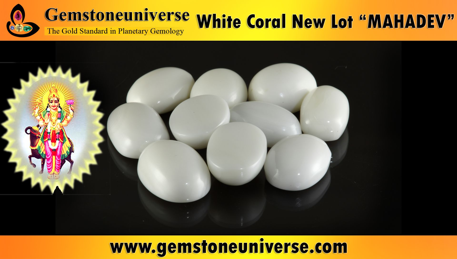 white coral stone astrology