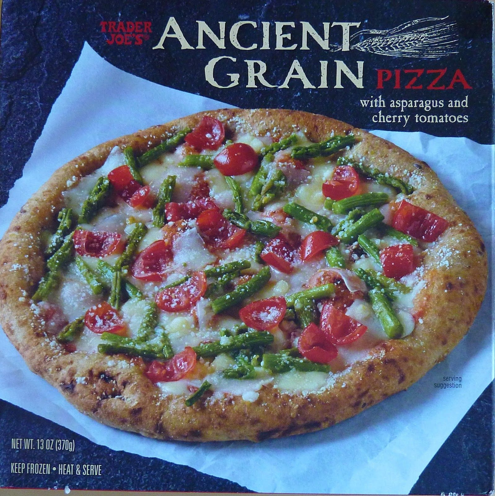 Check out our review of Trader Joe's Ancient Grain Pizza.