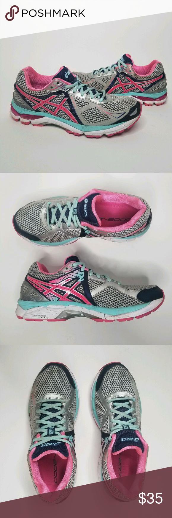 Asics GT-2000 5 T551N (D) Running Shoe