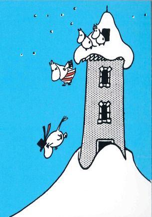 Muumitalon varapoistumistie - Perromania - pieni postikorttikauppa - Tuotteet