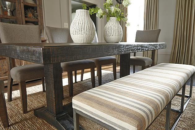 Multi Strumfeld Dining Room Bench View 3 E N T R Y