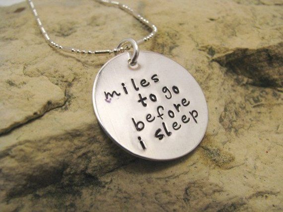 miles to go before i sleep meaning
