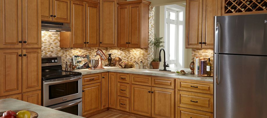 Cabinets To Go Westminster Glazed Toffee Cabinets To Go Kitchen Decor Inspiration Maple Kitchen Cabinets