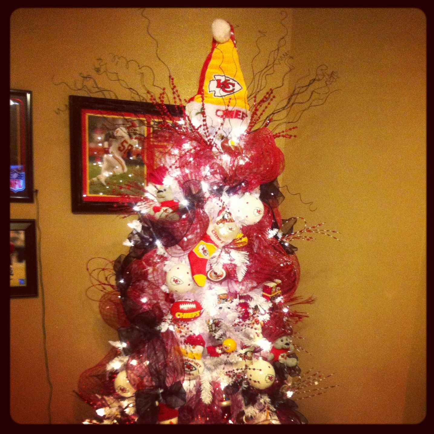 Kansas City Chiefs Tree