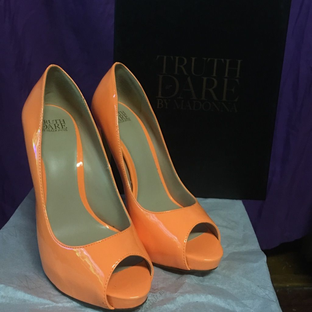 Open Toe High Heels Truth Or Dare By Madonna