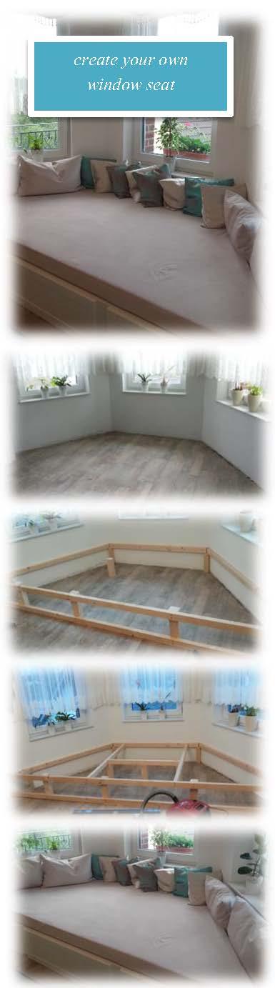 Fenstersitz- ein Hingucker im jeden Haus