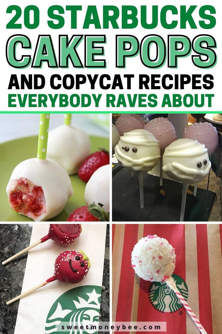 Diy starbucks copycat cake pops recipes starbucks cake