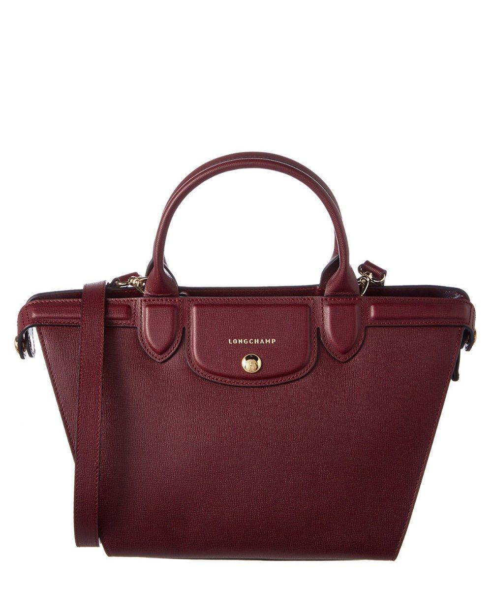 LONGCHAMP Longchamp Heritage Medium Leather Top Handle'. #longchamp #bags #shoulder bags #hand bags #leather #lining #