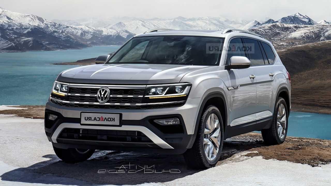 2021 Vw Atlas Facelift Release Date Review Price In 2020 Volkswagen Atlas The Row