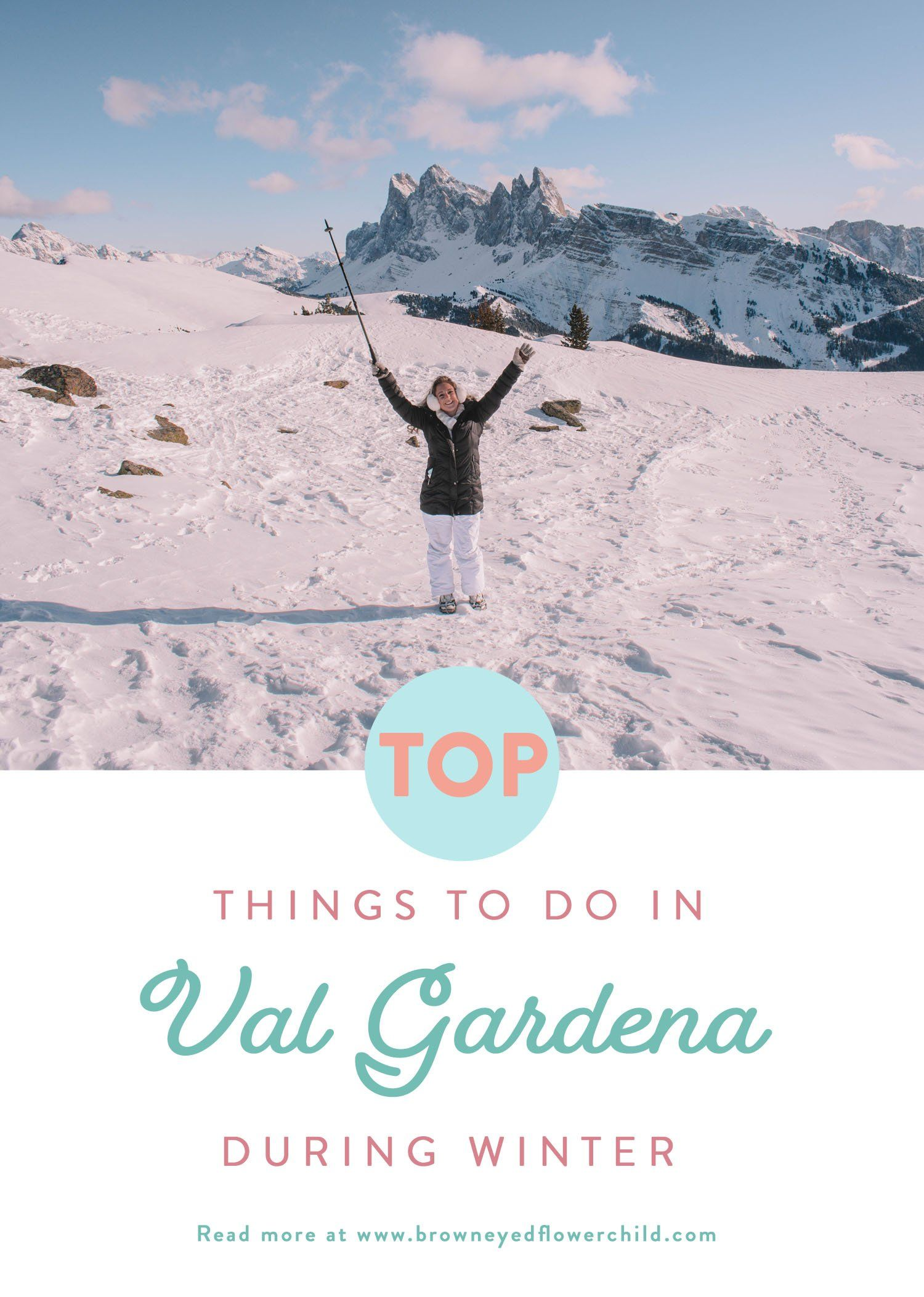 Photo of Top Things to do in Val Gardena during Winter – Brown Eyed Flower Child