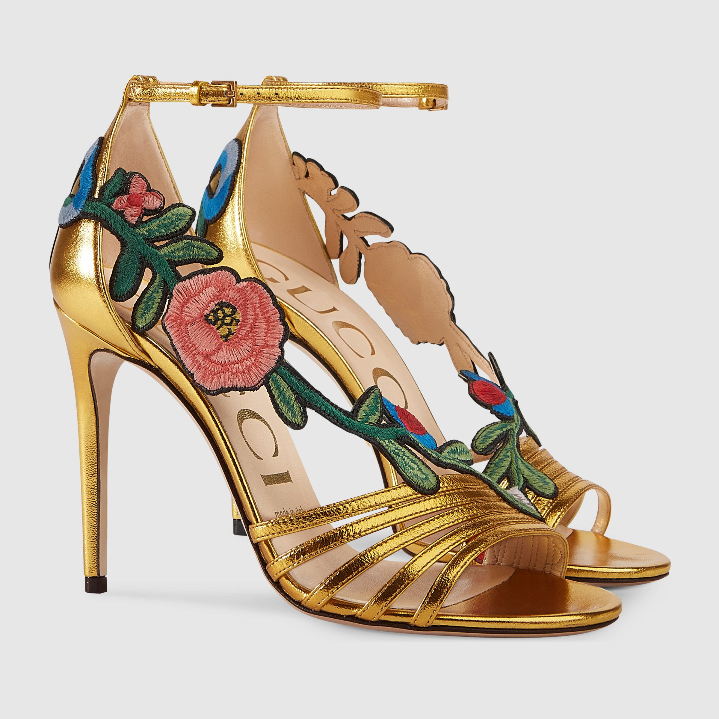 Sandalia de Piel Gucci rZTy7r