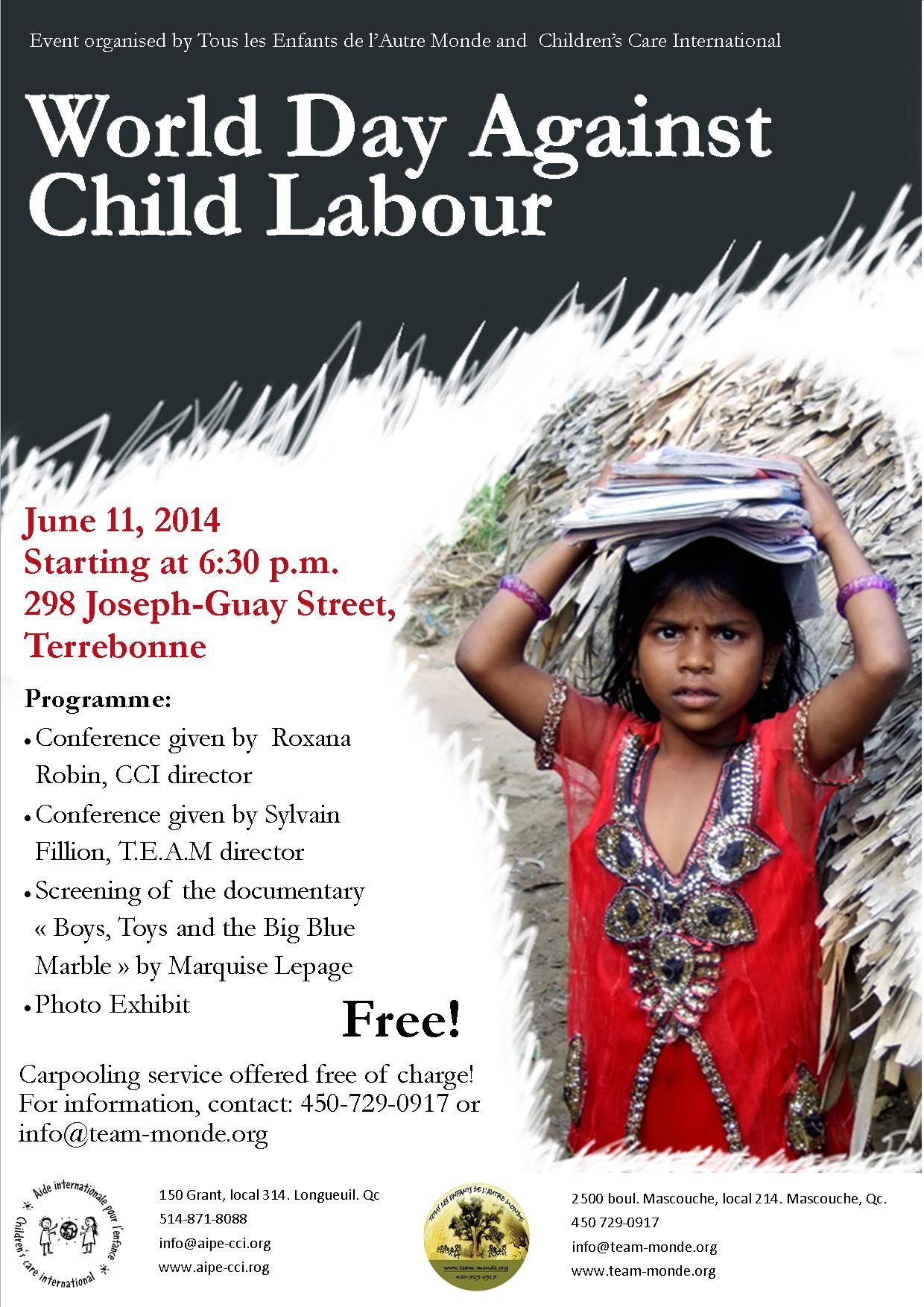 child labour essays children  · c pro-argument 3: boycotts made against the laws which were created to prevent child labour will lead to consequences such as harming the children rather.