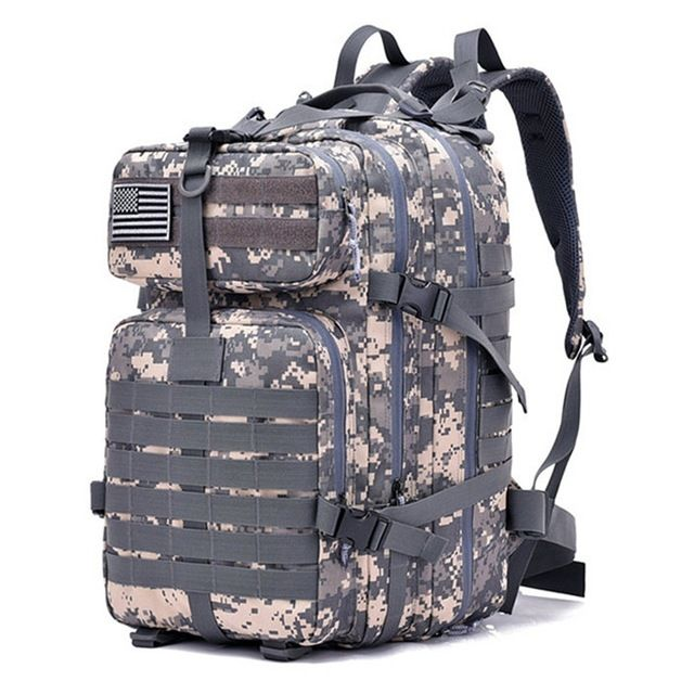 42L Military Tactical Assault Backpack Army 3D Waterproof Outdoor Bag large  Rucksack Hiking Camping Hunting Trekking 4572ab7e69540