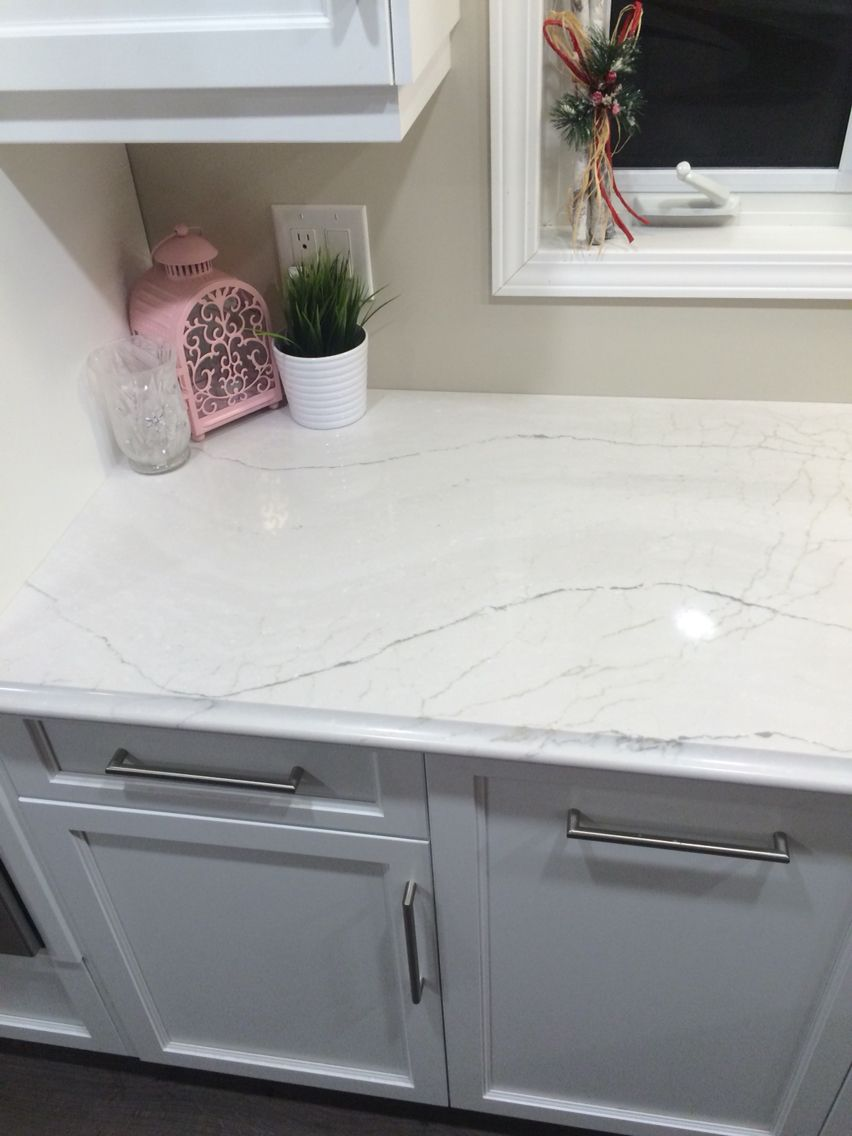 Ella Quartz Countertop Kitchen Quartz Kitchen
