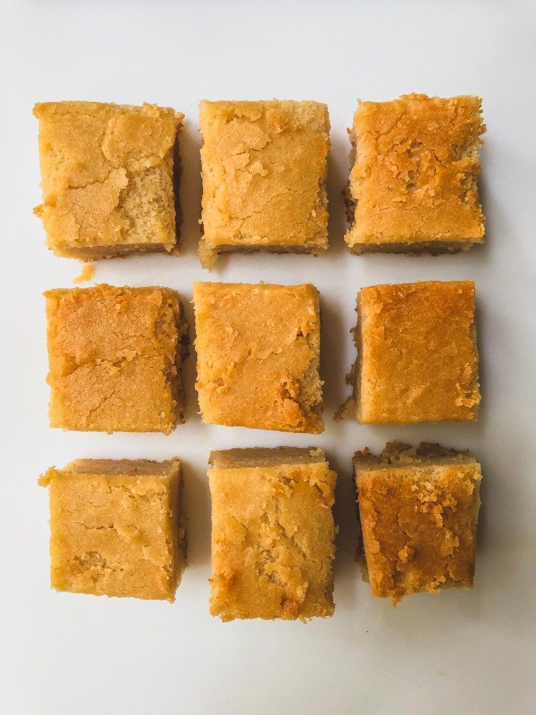 Butter mochi recipe vs trader joes mochi mix mochi