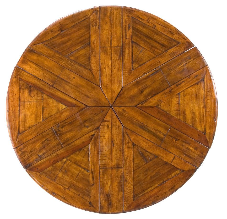 dining table british jupe style converts expands round circular