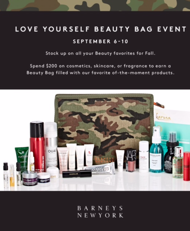 Fall 2017 Barneys New York Love Yourself Bag Event Gift With
