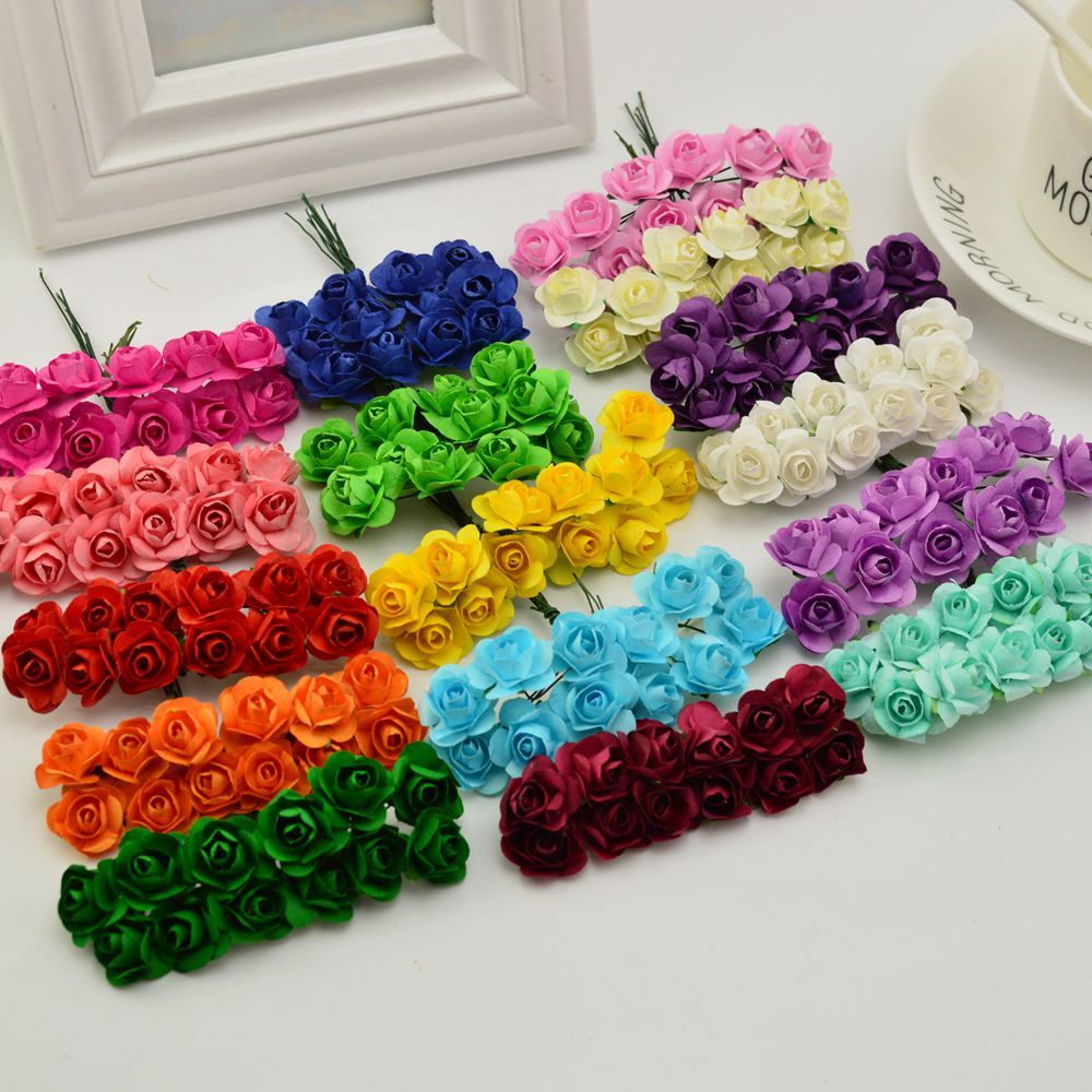 144pcs 1cm cheap artificial paper flowers for wedding car fake roses 144pcs 1cm cheap artificial paper flowers for wedding car fake roses used for decoration candy box diy wreath handmade izmirmasajfo Choice Image