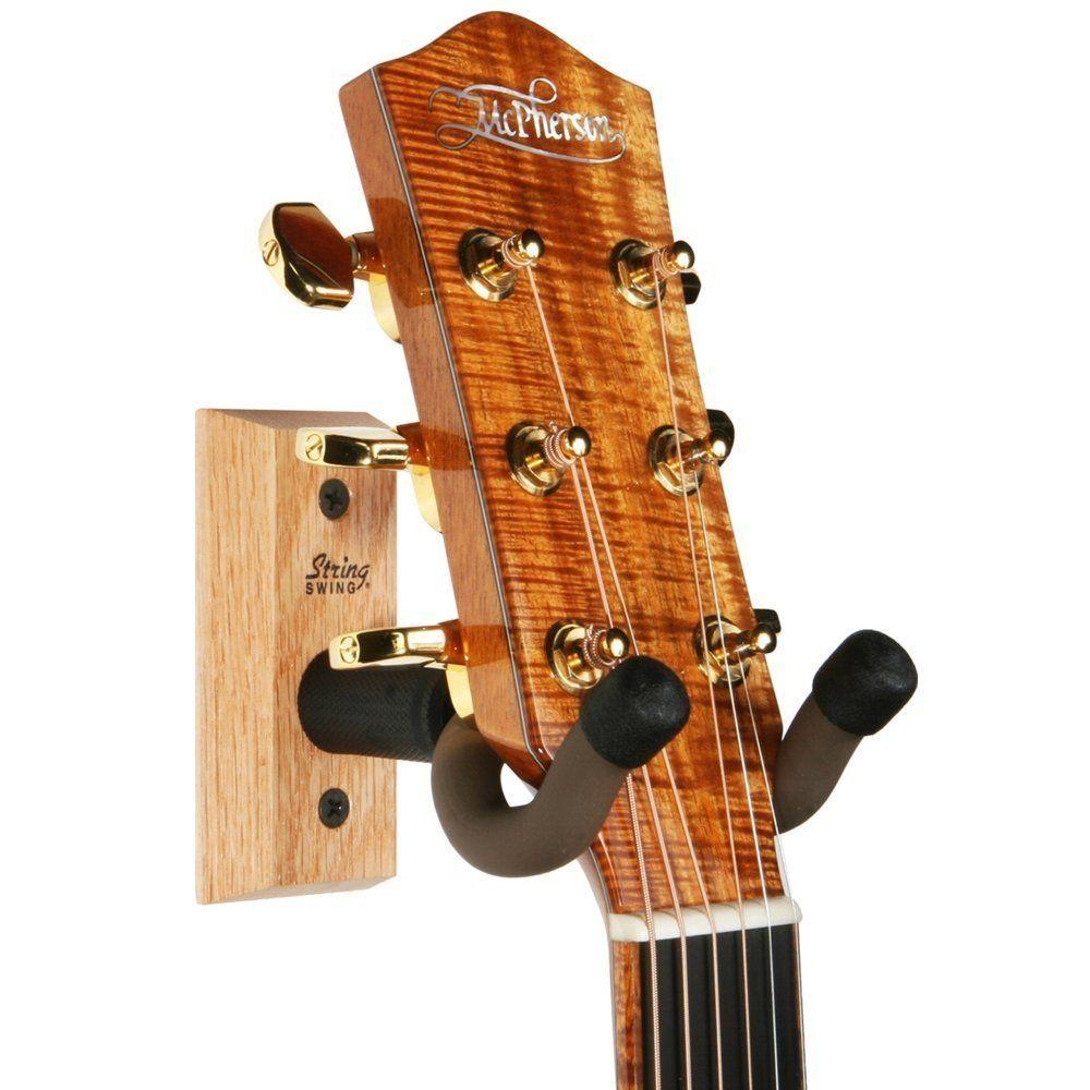 Hackers Help Hang Guitar On Expedit Ikea Hackers Guitar Wall Hanger Guitar Hanger Guitar Wall