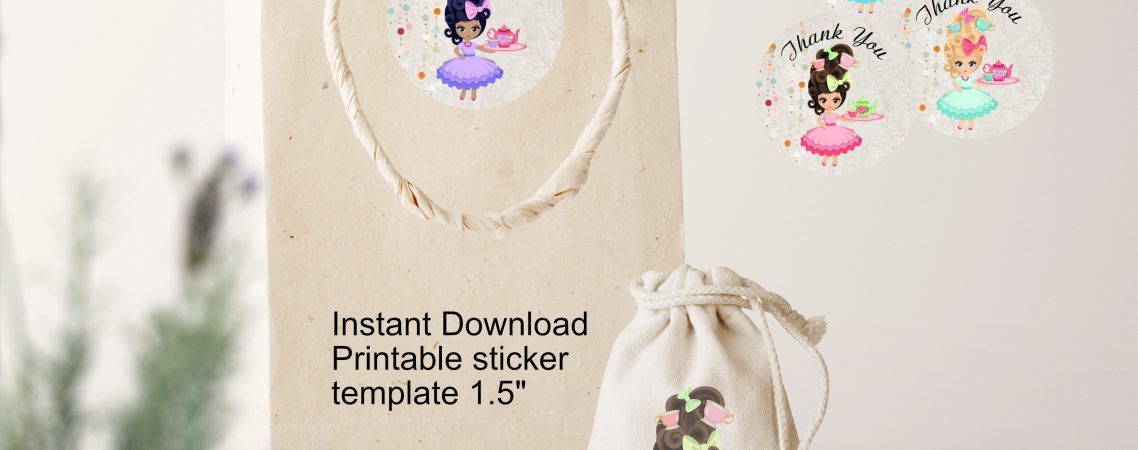 thank you sticker template to use with sticker paper great way to
