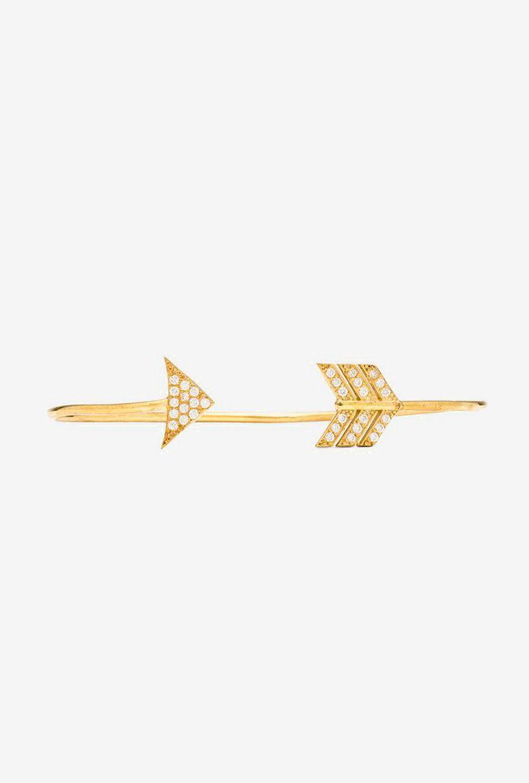 Alex mika arrow bracelet in gold pi phi pinterest arrow