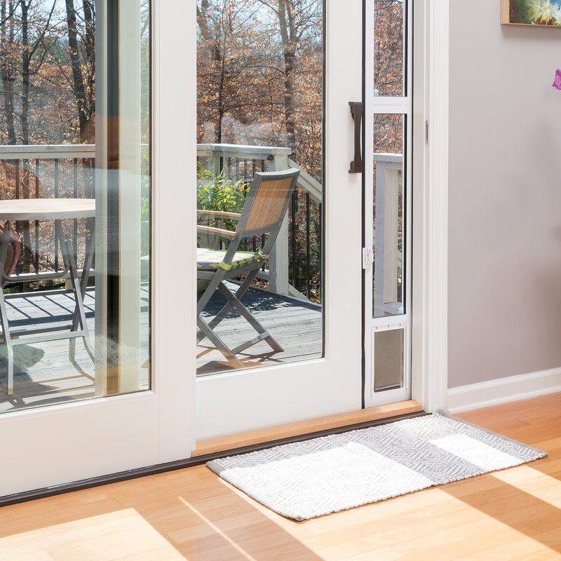Sliding Glass Pet Door In 2020 Sliding Glass Doors Patio Double Doors Exterior Pet Patio Door