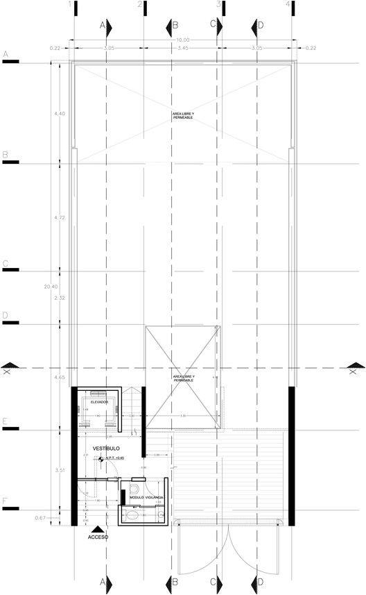 Galería de Casa Desnuda / Taller Estilo Arquitectura - 28 Pisos