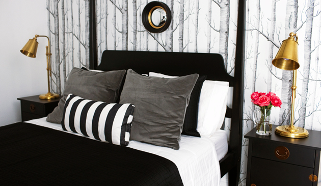 Black Gold And White Bedroom- universalcouncil.info