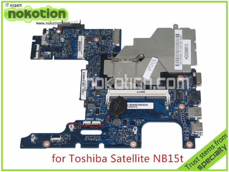 Ma10 Mainboard Rev 2 2 H000064160 Laptop Motherboard For Toshiba Satellite Nb15 Nb15t Cpu N2810 Onboard Ddr3 Board Motherboard Laptop Motherboard Toshiba
