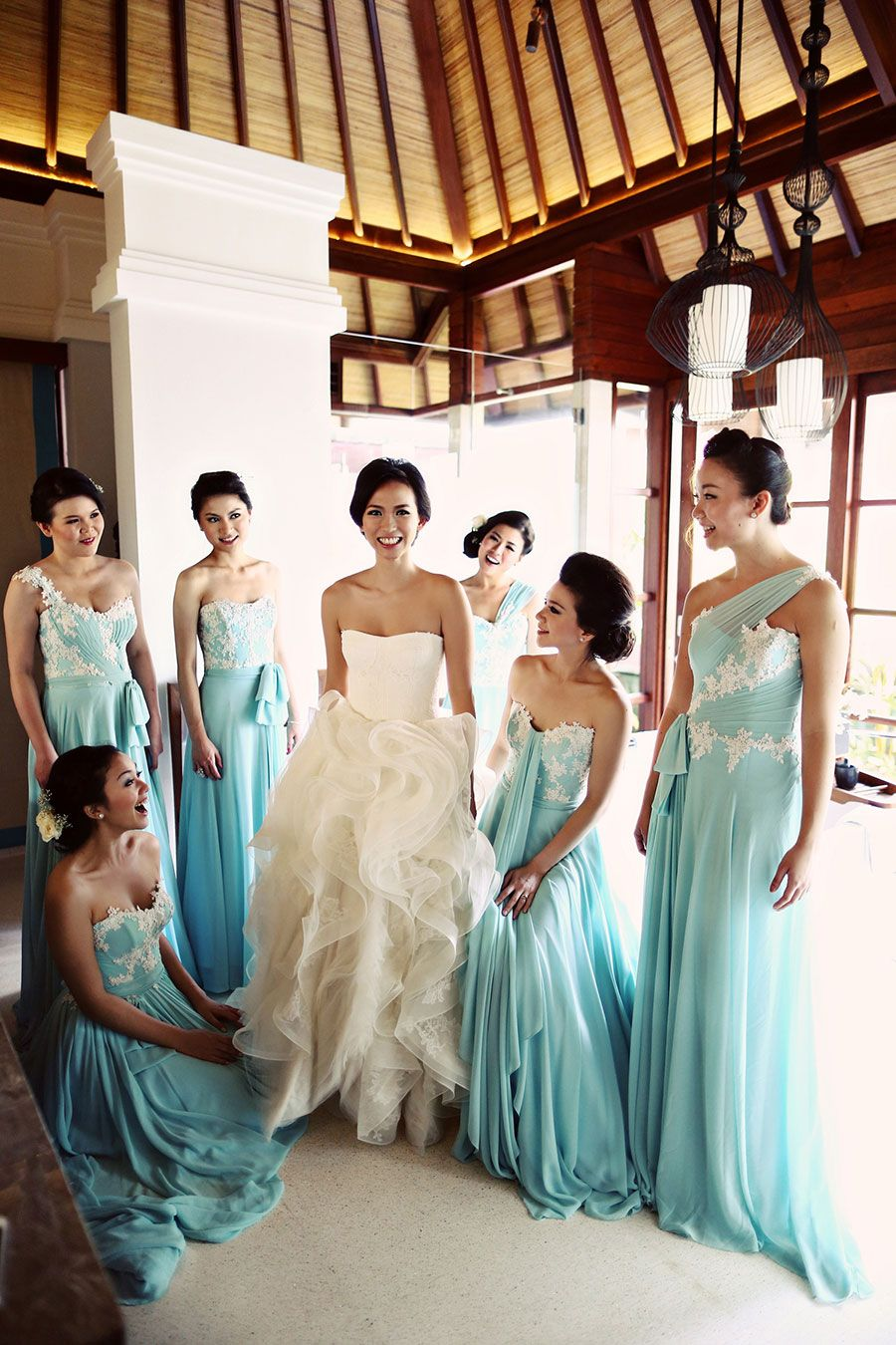 Mint bridesmaid dresses alvin and cindys nautical beach wedding mint bridesmaid dresses alvin and cindys nautical beach wedding in balialvin and cindys nautical beach ombrellifo Images