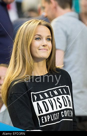 Melbourne, Australia. 1st Feb, 2015. #KimSears, fiancee of 6th seed Andy Murray at Men's Final match at the 2015 Australian Open grand slam tennis tournament at Melbourne Park Credit:Cal Sport Media/Alamy