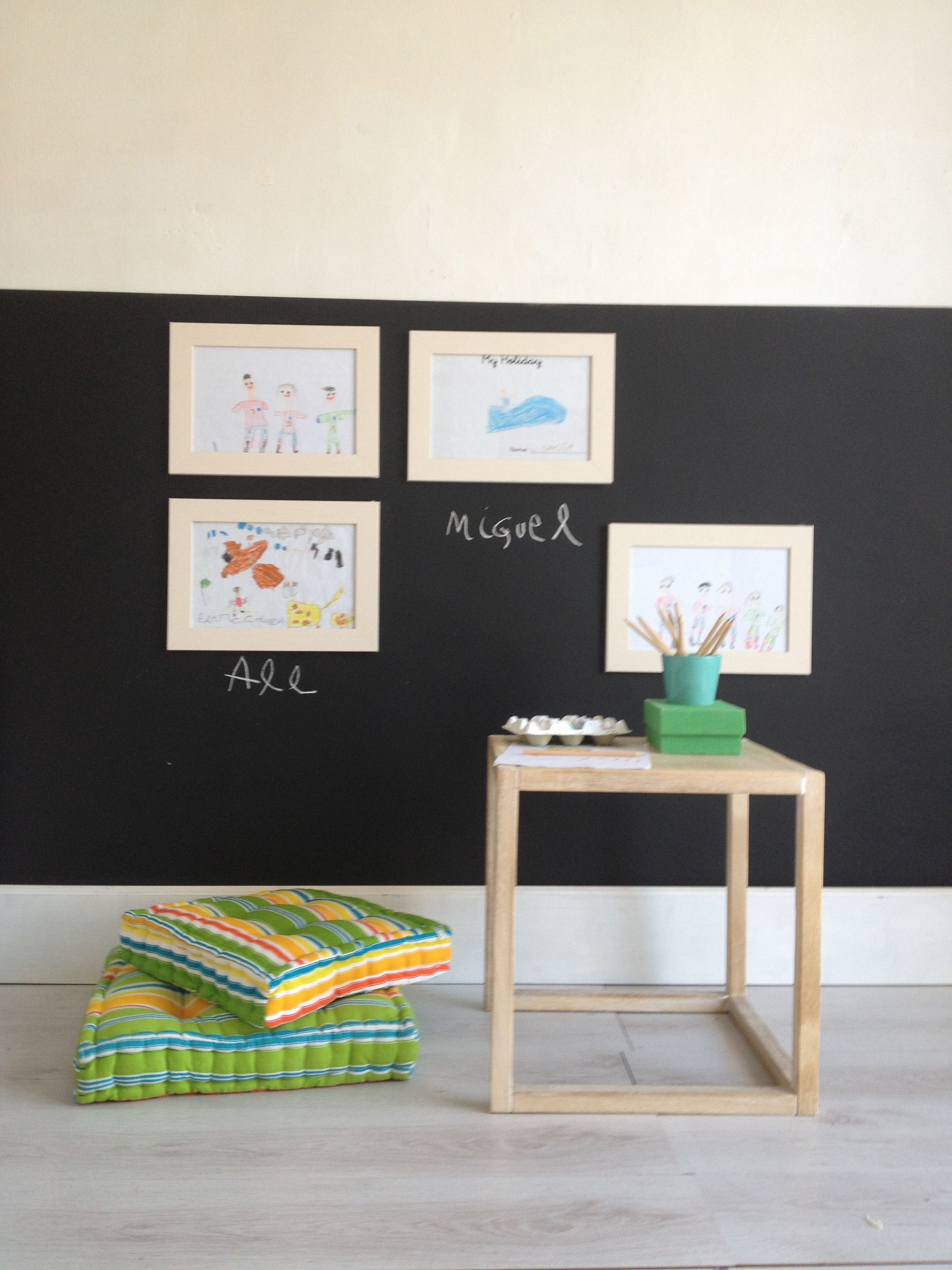 Cuarto Color Pintura Pizarra | Las 6 Mejores Ideas De Decoración Con ...