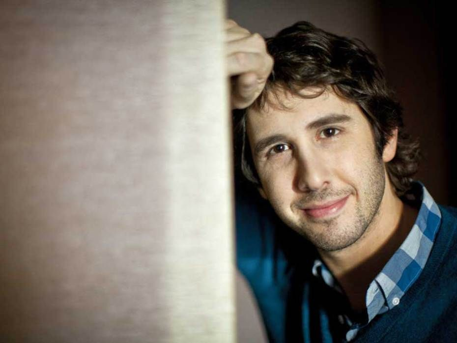 """""""When you have success, it isn't reason to party, it's a time to work harder,"""" Josh Groban says of how he celebrates having a No. 1 album."""