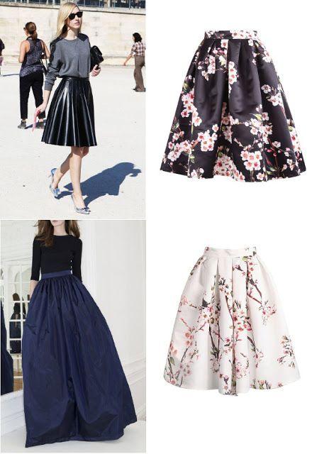 5a40a0b8223236 Comment faire une jupe plissée tendance et chic | A Style Pinboard ...