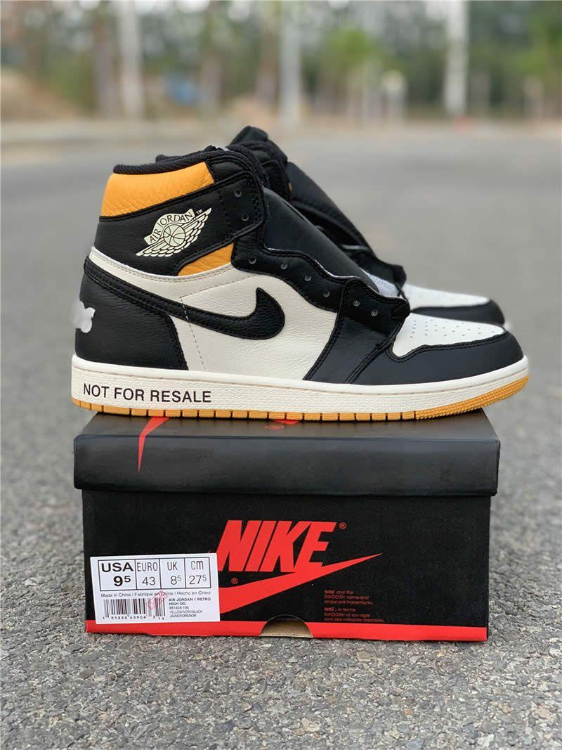 8c2e1a41dbf air jordan 1 no ls not for resale black yellow for sale 861428-106 pics